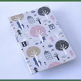 Cuaderno 20,5x13,5 Arbolado