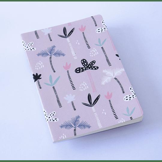 Cuaderno 20,5x13,5 Palmeras