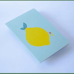 Cuaderno 20,5x13,5 Limón