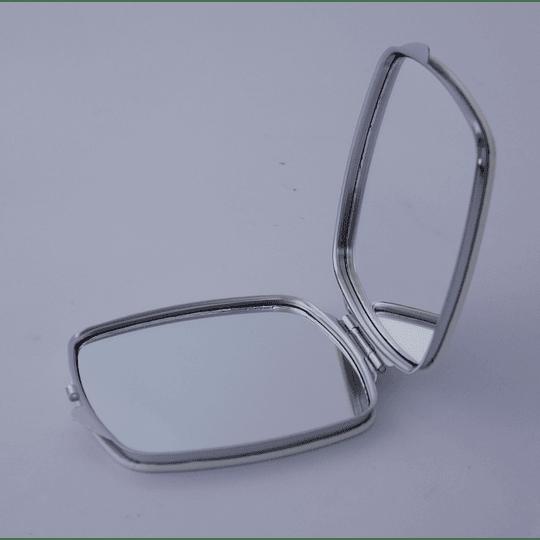 Espejo de Bolsillo doble verde