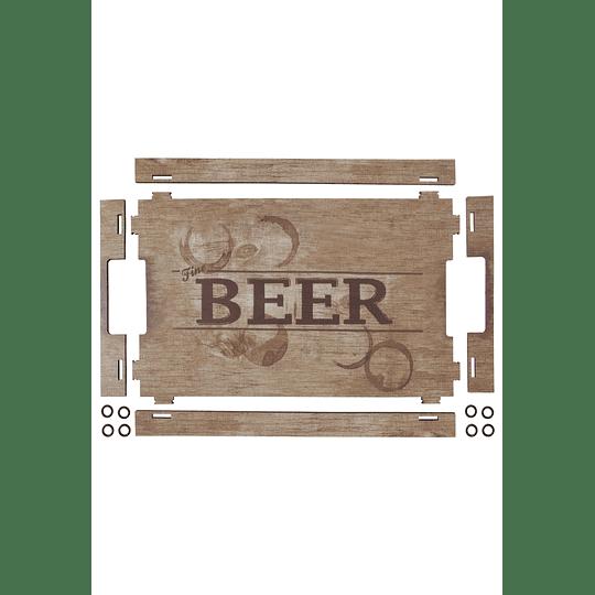 Bandeja madera Beer inspirations