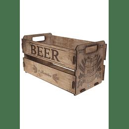 Caja organizadora decorativa M Inspirations 35x20x19  Beer