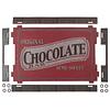Bandeja madera chocolate inspirations