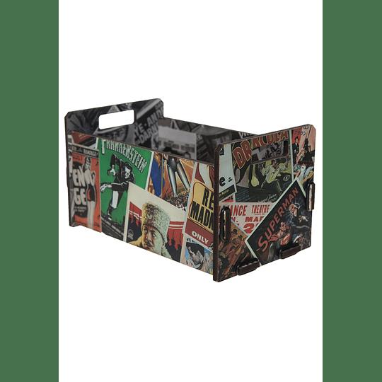 Caja organizadora decorativa M Inspirations 35x20x19  comic