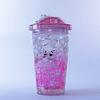 Vaso Bombilla  450ml Hello Ice Pink P3