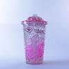 Vaso Bombilla  450ml Hello Ice Pink P2