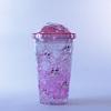 Vaso Bombilla  450ml Hello Ice Pink P4