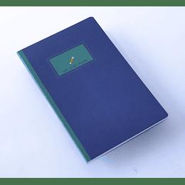 Cuaderno 20,5x13,5 Our Story  etiqueta verde