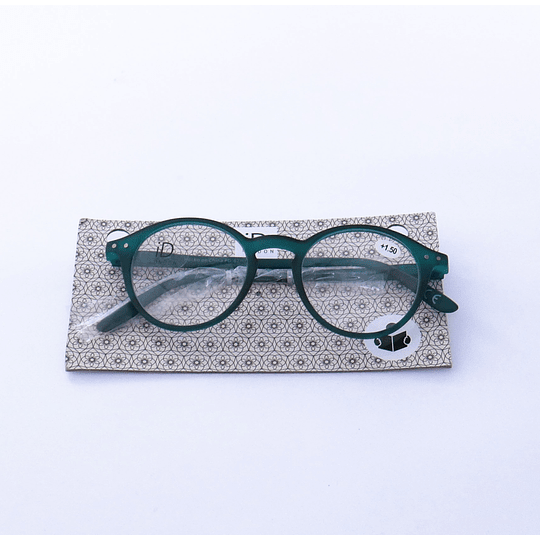 Lentes ópticos de lectura +1.50 Verdes