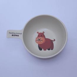 Pocillo Bowl Infantil - Hipopótamo