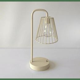 Lámpara led mesa luz cálida 15x33x12 cm casaideas