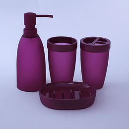 Kit de Baño 4 piezas Uva