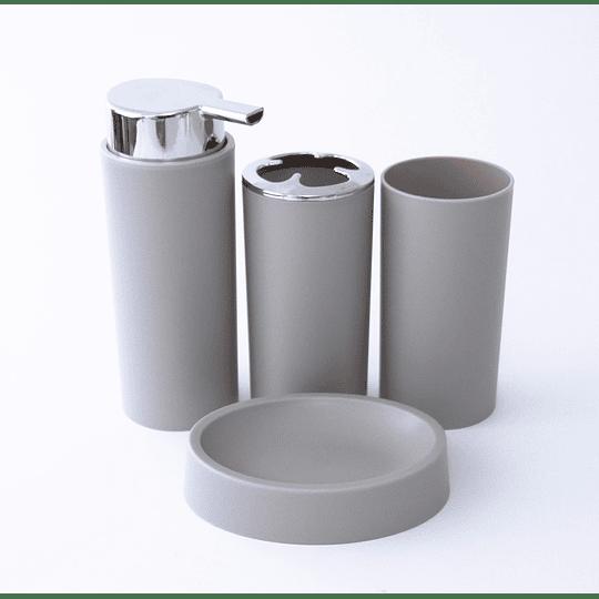 Kit de Baño 4 piezas Beige