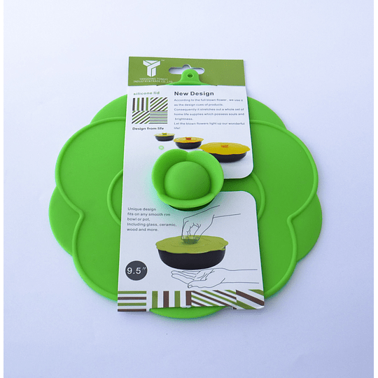 Tapa Silicona 23,5cm verde