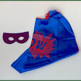 Set Súper Héroe Azul/Rojo casaideas