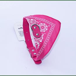 Collar Mascota Bandana Rosado
