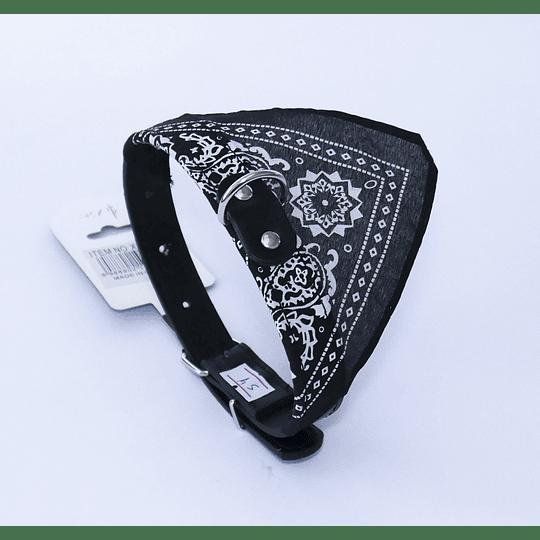Collar Mascota Bandana Negro