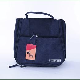 Travel Bag - Bolso Cosmetiquero Azul