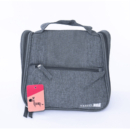 Travel Bag - Bolso Cosmetiquero Gris