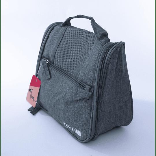 Travel Bag - Bolso Cosmetiquero Gris