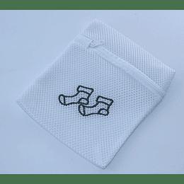 Bolsa de lavandería calcetas gris
