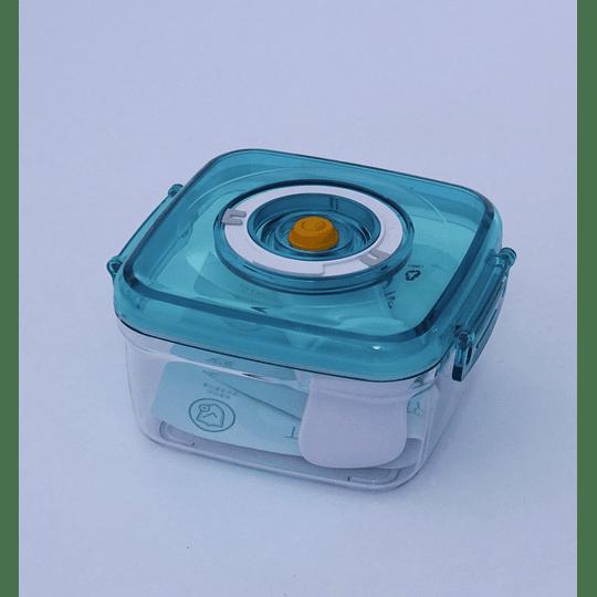 Canister Hermético sellado al vacío Aqu/Art con bombin