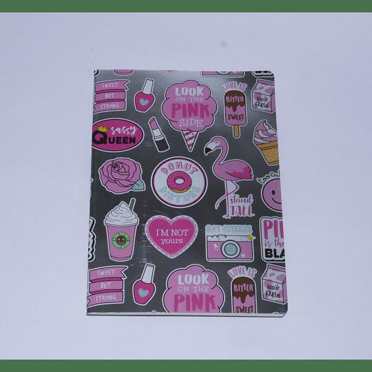 Cuaderno 18x25 Plata-Donut