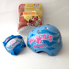 Casco para Bicicleta + Coderas/rodilleras  High School Musical  Disney