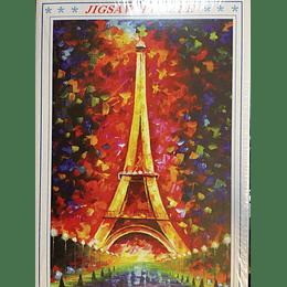 puzzle 1000 pcs  50x75 Torre Eiffel