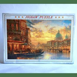 puzzle 1000 pcs  50x75 Venetian Café by Thomas Kinkade