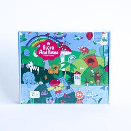 Puzzle 180 pcs Flora and Fauna 570x415mm