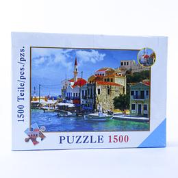 Puzzle 1.500 pcs  Paisaje Griego 61x81