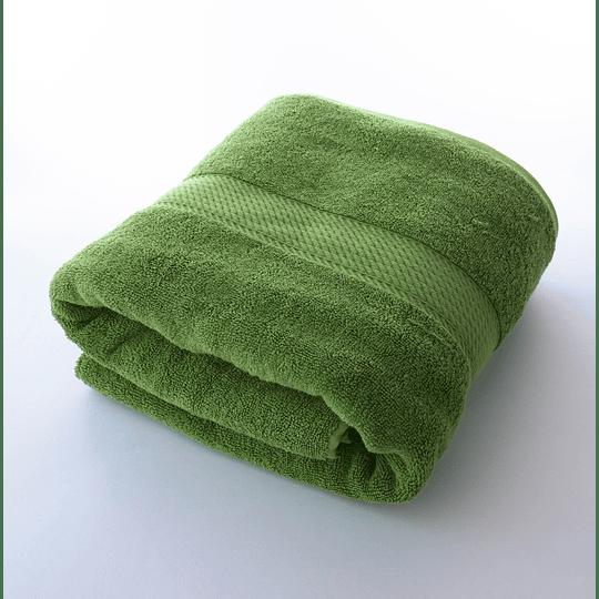Toalla 70x140 500gr Verde