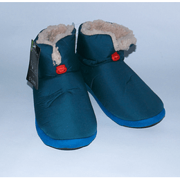 Pantufla Bota M/42 Azul