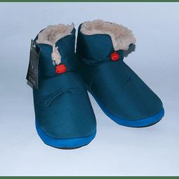 Pantufla Bota M/44 Azul