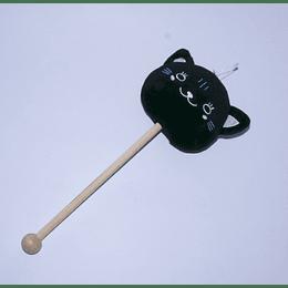 Martillo de Masaje Peluche negro