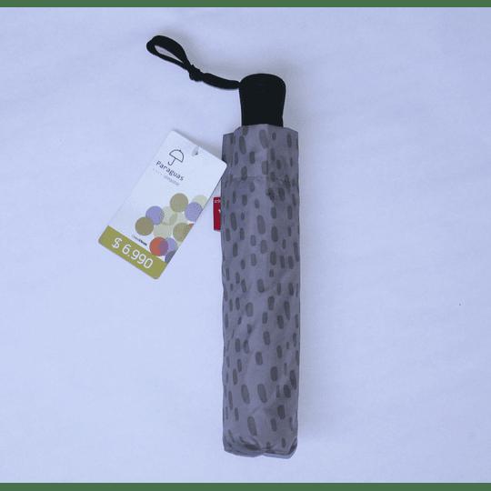 Paraguas Plegable Print Gris claro