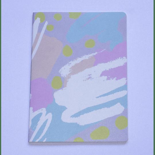 Cuaderno 32 hojas 18x25 Composición Diseño p