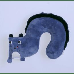 Cojín Cervical Infantil Forma/azul