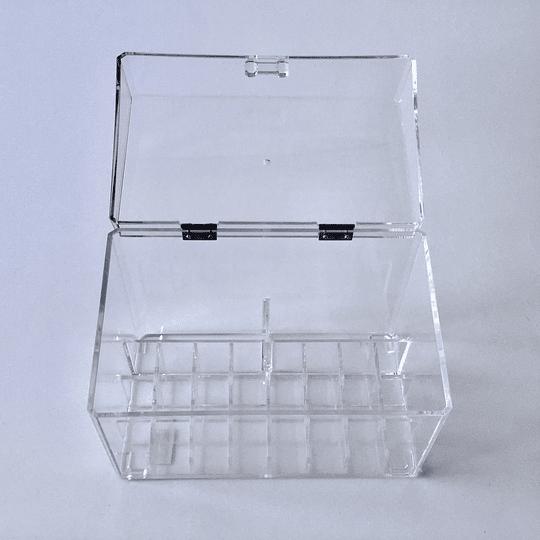 Organizador Acrílico Caja 23x13,5x15