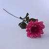Flor Artificial Tallo Largo Dalia Fucsia