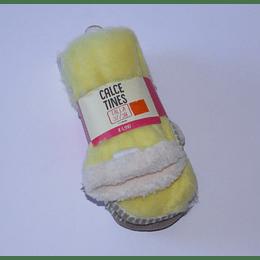 Calcetines  37/38  Tejido Suela/Amarillo