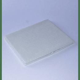Mantel 150x210 Jacquard / blanco invierno