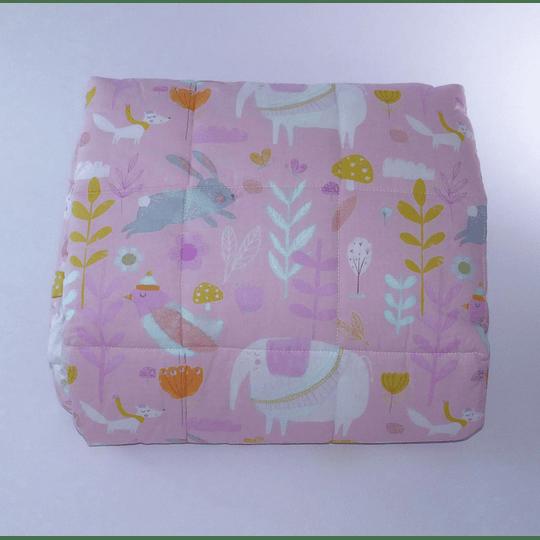 Cobertor y Protector Cuna Estampado
