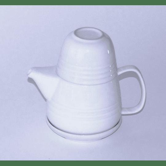 Set Té Individual 5 piezas Stoneware