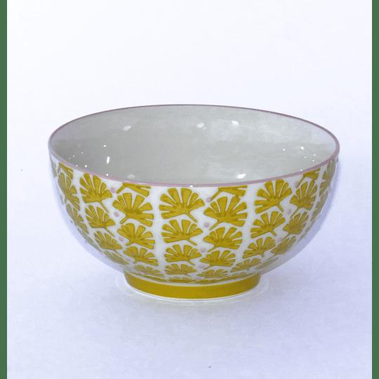 Bowl M 14cm Diseño Amarillo