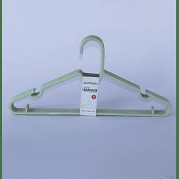 Colgadores de Ropa 8 Pcs - verde