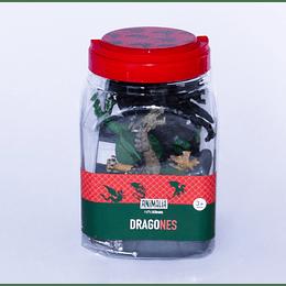 Dragones 20 Piezas