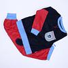 Pijama Polar Talla 6 rojo/azul