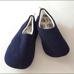Pantuflas azul L/35/36